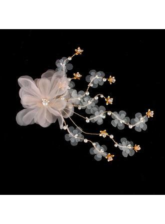 Hairpins Wedding Silk Flower Lovely (Sold in single piece) Headpieces