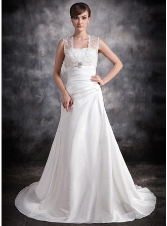 General Plus Sweetheart A-Line/Princess - Taffeta Wedding Dresses