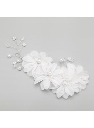 "Combs & Barrettes Wedding/Special Occasion/Party Alloy/Imitation Pearls 8.66""(Approx.22cm) 4.13""(Approx.10.5cm) Headpieces"