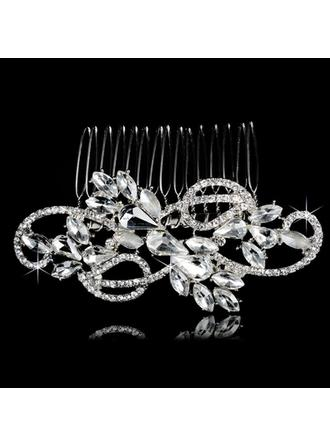 Combs & Barrettes Wedding/Special Occasion/Party/Carnival Rhinestone/Alloy Gorgeous Ladies Headpieces