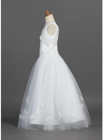 vintage style lace flower girl dresses