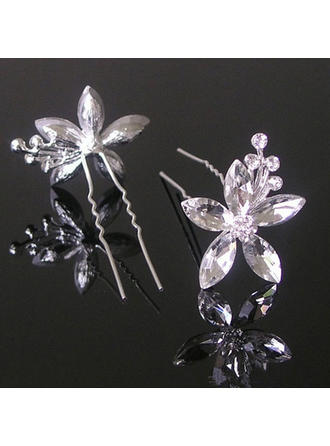 Lovely Alloy/Imitation Pearls Hairpins (Set of 3) (042074563)