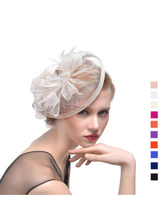 Cambric With Feather Fascinators Beautiful Ladies' Hats (196194676)