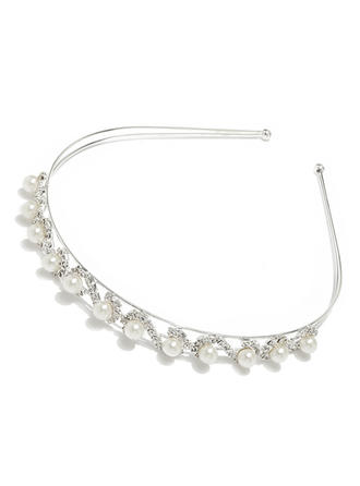 Gorgeous Alloy Pearl Headbands