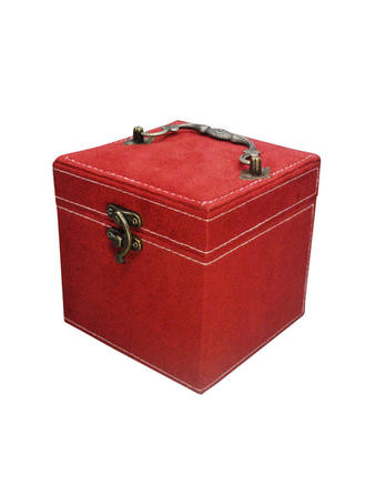 "Jewelry Box Velvet 4.92 ""(Approx.12.5cm) 4.72""(Approx.12cm) Wedding & Party Jewelry"