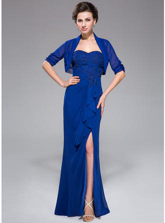 Beautiful Floor-Length Trumpet/Mermaid Chiffon Mother of the Bride Dresses