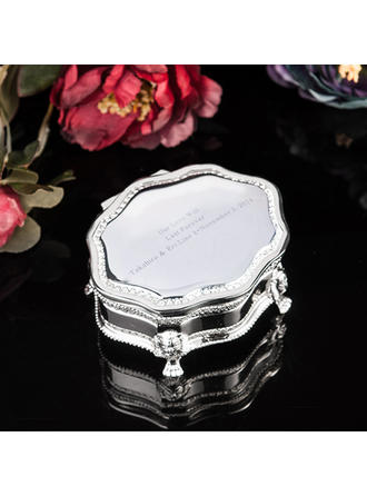 "Jewelry Box Alloy Ladies' Personalized 3.94""(Approx.10cm) Wedding & Party Jewelry"
