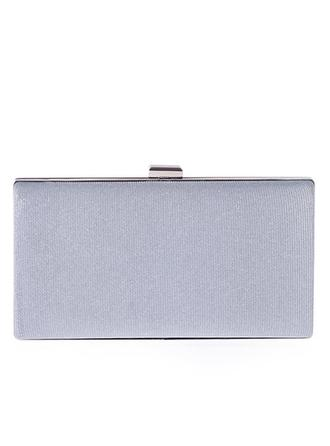 Clutches Wedding/Ceremony & Party Polyester Clip Closure Unique Clutches & Evening Bags