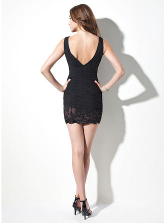 lace cocktail dresses with sleeves uk