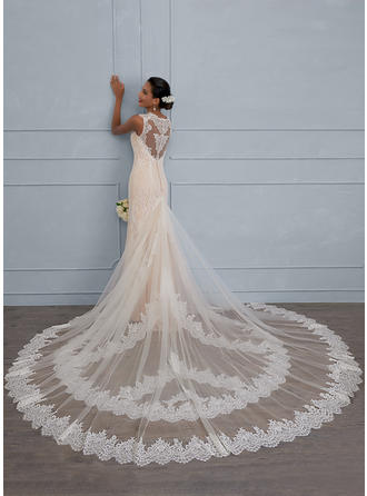 Sheath/Column - Lace Wedding Dresses