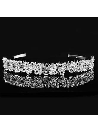 "Tiaras Wedding/Special Occasion Alloy 6.3""(Approx.16cm) 0.78""(Approx.2cm) Headpieces"