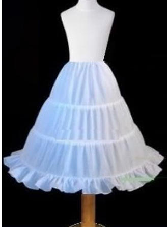 Petticoats Polyester Flower Girl Slip Wedding Girls Petticoats