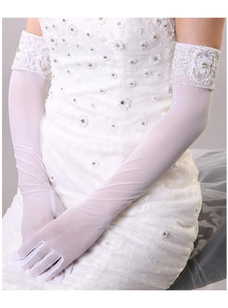 Nylon Ladies' Gloves Opera Length Bridal Gloves Nylon Gloves
