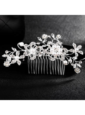 "Combs & Barrettes Wedding Alloy 4.33""(Approx.11cm) 2.37""(Approx.6cm) Headpieces"