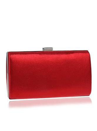 Clutches/Satchel Wedding/Ceremony & Party Polyester Magnetic Closure Elegant Clutches & Evening Bags
