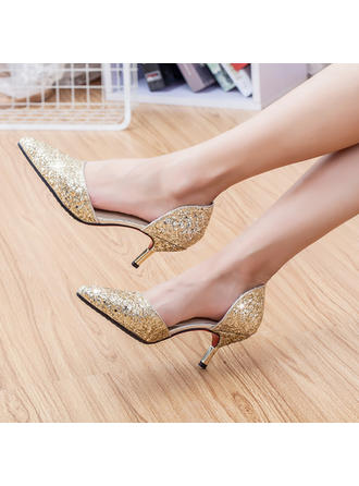 Women's Stiletto Heel Leatherette No Wedding Shoes