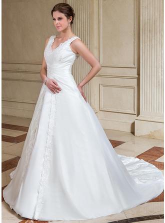 Gorgeous Taffeta ウエディングドレス (002001221)