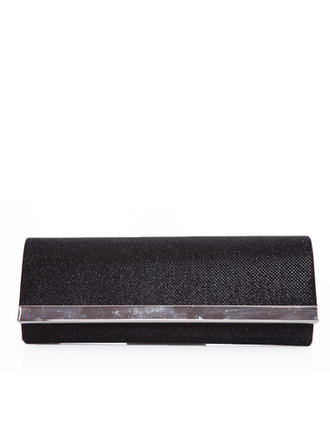 Clutches Wedding/Ceremony & Party Silk Snap Closure Rhinestone Style Clutches & Evening Bags