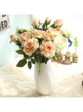 """Bridal Bouquets/Flower Gifts Free-Form Wedding/Party Satin 1.57""""(Approx.4cm) Wedding Flowers"""