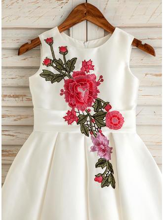 two tone flower girl dresses