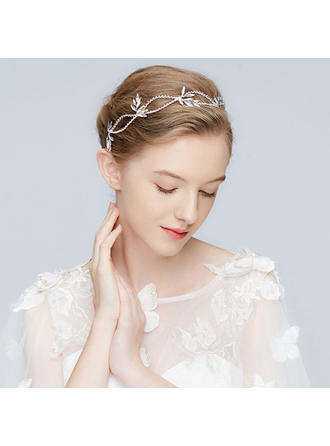 Beautiful Alloy Headbands With Rhinestone/Crystal (Sold in single piece)