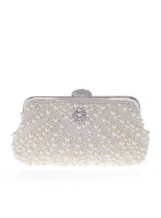 Totes Wedding Beading Magnetic Closure Girly Clutches & Evening Bags