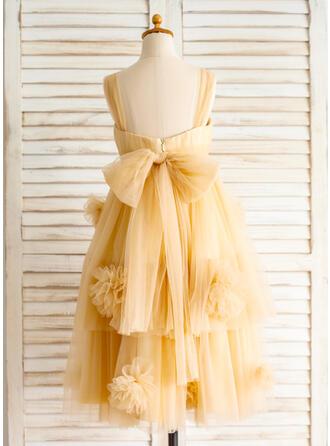 western wedding flower girl dresses