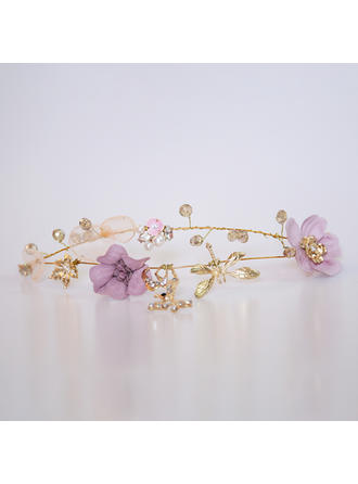 Ladies Gorgeous Crystal/Alloy/Flannelette Headbands With Crystal