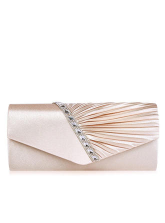 "Clutches/Satchel Wedding/Ceremony & Party Satin Attractive 10.63""(Approx.27cm) Clutches & Evening Bags (012186898)"