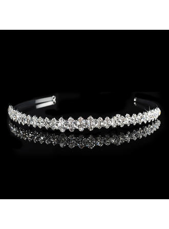 "Tiaras Wedding/Special Occasion/Party Rhinestone/Alloy 0.59""(Approx.1.5cm) 6.3""(Approx.16cm) Headpieces"