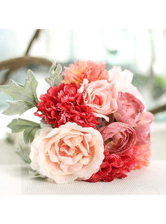 "Bridesmaid Bouquets/Decorations Free-Form Wedding Fabric 10.62""(Approx.27cm) Wedding Flowers"