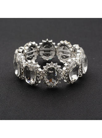 "Bracelets Alloy/Rhinestones Ladies' Fashional 0.98""(Approx.2.5cm) Wedding & Party Jewelry"