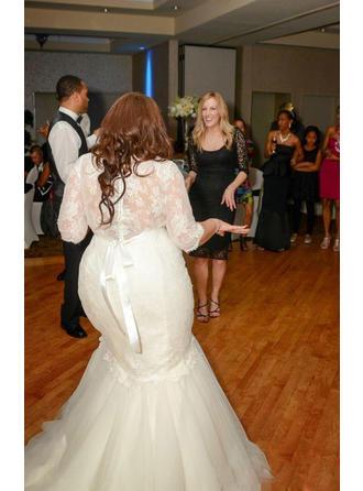 blue plus size wedding dresses