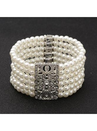 "Bracelets Alloy/Imitation Pearls Ladies' Fashional 2.20""(Approx.5.6cm) Wedding & Party Jewelry"