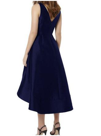 bridesmaid dresses blue grey