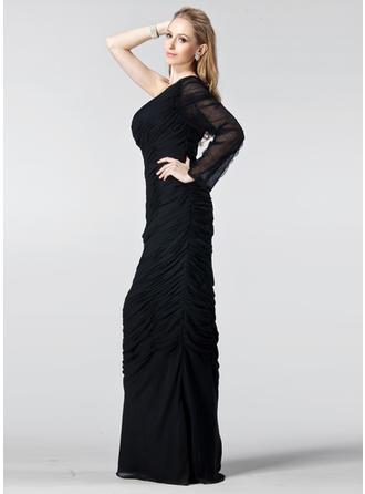 short sleeve ladies evening dresses