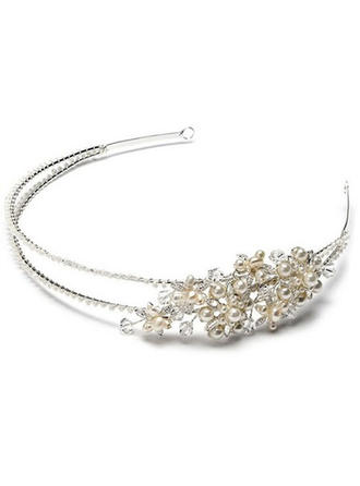 Gorgeous Crystal/Rhinestone/Alloy/Imitation Pearls Headbands With Rhinestone/Venetian Pearl/Crystal (Sold in single piece)