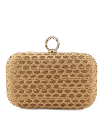 "Clutches Ceremony & Party PU Pretty 6.3""(Approx.16cm) Clutches & Evening Bags"