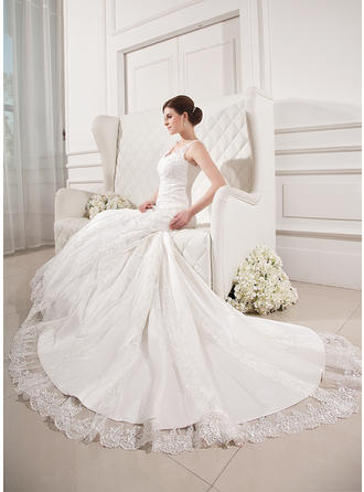 a line style wedding dresses