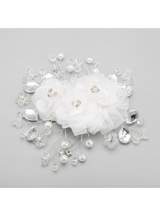 "Combs & Barrettes Wedding/Special Occasion/Party Alloy/Imitation Pearls 5.71""(Approx.14.5cm) 5.31""(Approx.13.5cm) Headpieces"