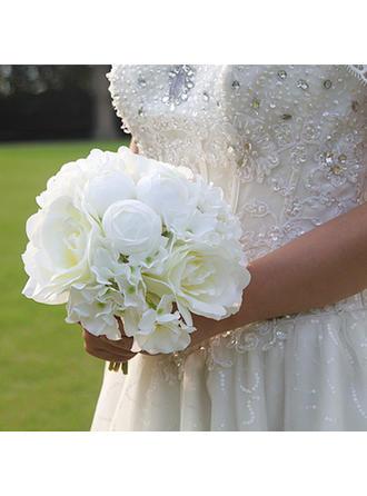 "Bridal Bouquets/Bridesmaid Bouquets/Wedding Table Flowers Wedding/Party/Casual Artificial Silk 7.87""(Approx.20cm) 9.84"" (Approx.25cm) Wedding Flowers"