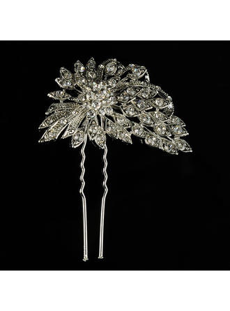 "Hairpins Wedding Alloy/Freshwater Pearl 2.36""(Approx.6cm) 2.95""(Approx.7.5cm) Headpieces"