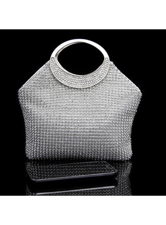 "Clutches/Satchel Wedding/Ceremony & Party Crystal/ Rhinestone Bright 6.3""(Approx.16cm) Clutches & Evening Bags"