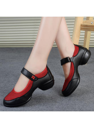 Women's Modern Sneakers Leatherette Dance Shoes