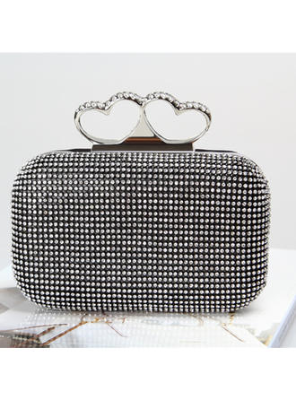 Clutches/Satchel Wedding/Ceremony & Party Crystal/ Rhinestone Pretty Clutches & Evening Bags