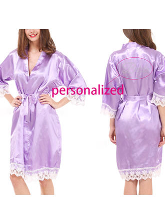 Sleepwear Casual/Wedding Bridal/Feminine/Fashion Polyester Elegant Lingerie