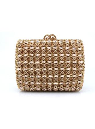 Clutches/Wristlets Wedding/Ceremony & Party Acrylic/PU Clip Closure Charming Clutches & Evening Bags