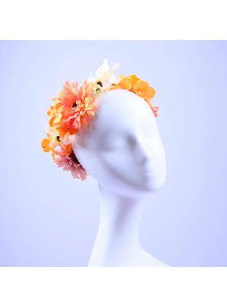Ladies Beautiful Artificial Silk Headbands (042108290)