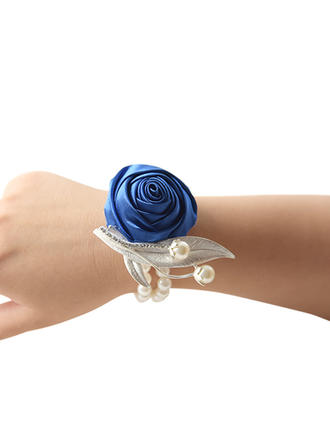 "Wrist Corsage Wedding Satin 3.94""(Approx.10cm) 3.94""(Approx.10cm) Wedding Flowers"