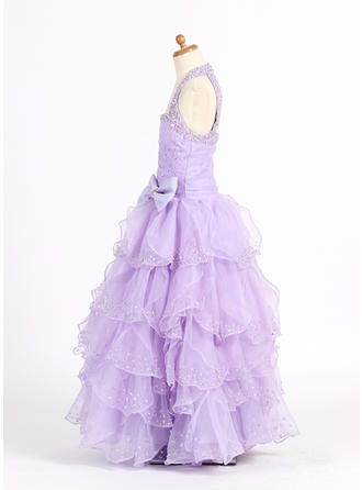 flower girl dresses high low hem